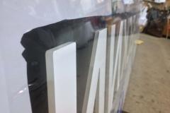 Вывеска (кассета из композитного алюминия на металлокаркасе из профильной трубы 20*40мм) Kerama Marazzi в Челябинске