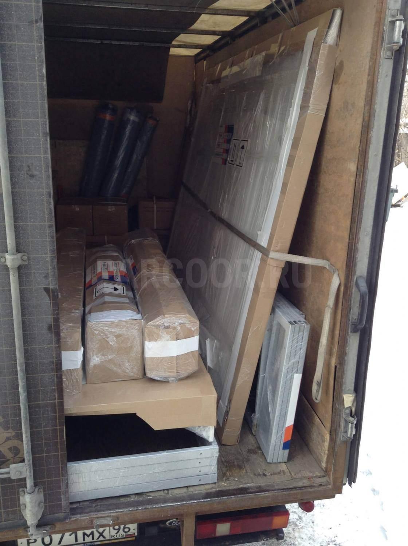 Силами транспортной компании изделие отправлено заказчику по адресу г. Темрюк, ул. Бувина 174-1