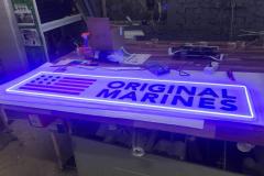 Панели с LED неоновой подсветкой
