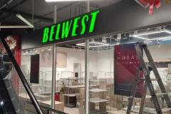 Реализован проект по оформлению магазина BELWEST ТРЦ АкварИн по адресу г. Уфа, ул. Ферина, д. 29