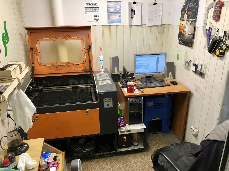 Лазерный станок-гравер ЧПУ с рабочим полем 600х400мм (NO NAME)