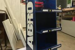 Стойка из ЛДСП для ABRO