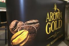Промо-стойка  Aroma Gold