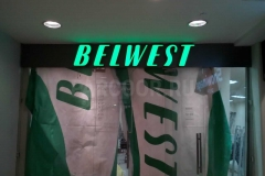 Вывеска BELWEST
