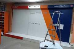 Бренд-стена для продукции марки Fondital