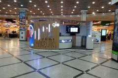 Бренд-зона торговой марки GLO в ТЦ Гринвич