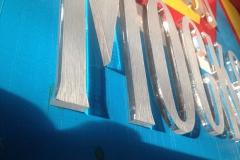 Псевдообъемные буквы из оргстекла