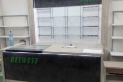 Комплексное оформление магазина BELWEST в ТРЦ ГиперСити в Кургане
