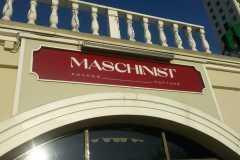 Световая вывеска Maschinist