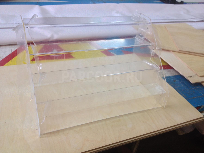 POS-материалы из оргстекла и ПЭТ