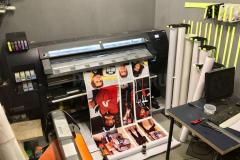 Участок интерьерной печати
