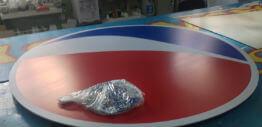 Безкаркасные вывески (пластик+пленка)