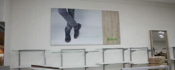 Комплексное оформление магазина BELWEST в Магнитогорске