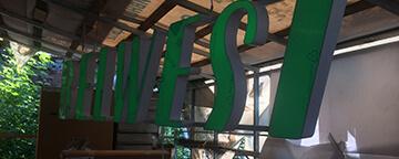 Комплексное оформление магазина BELWEST в Тюмени