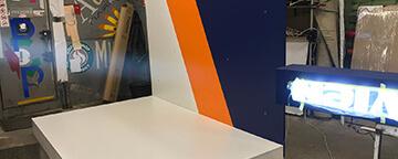 Изготовлена бренд-зона для торговой марки Navien