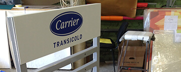Стойка для продукции Carrier Transicold