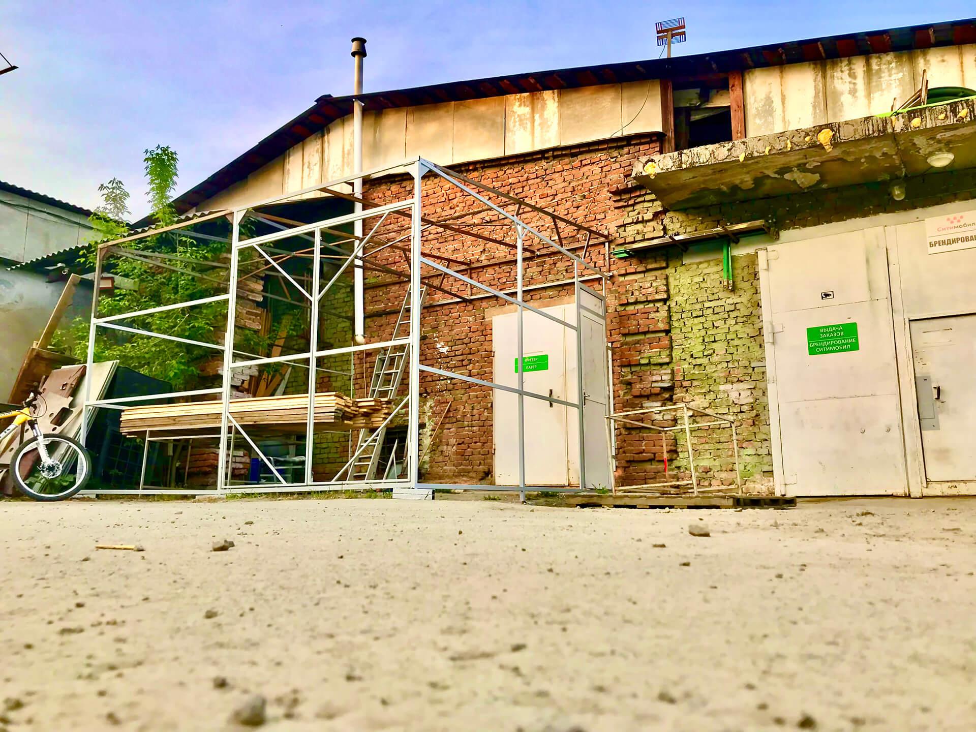 Наша компания приступила к строительству холодного склада для хранения листового материал